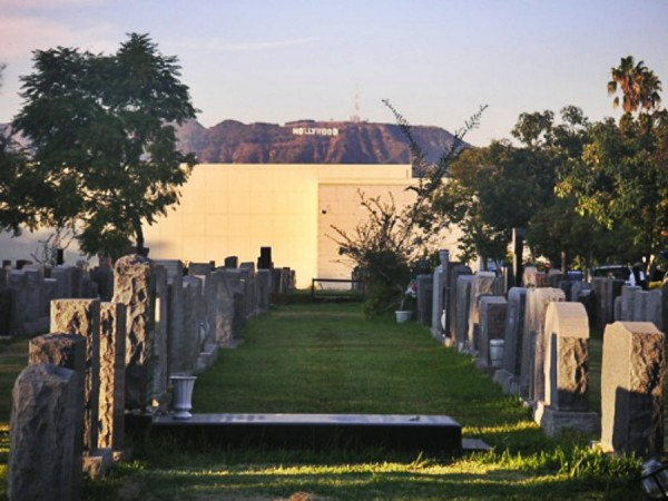 Hollywood Forever Cemetery Tombstones