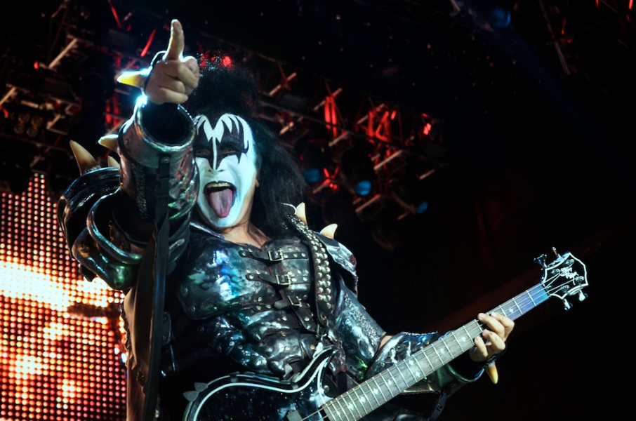 Kiss Brings Football to the city of Los Angeles