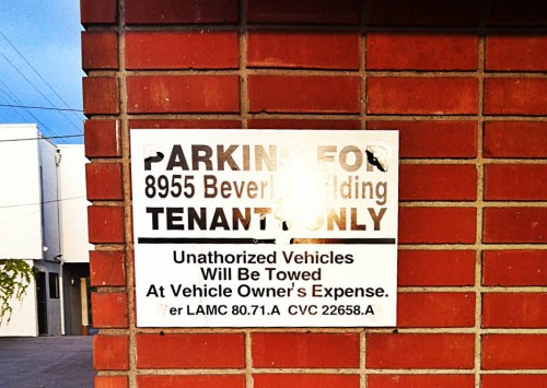 Parking Signs Apply Even When They're Hard To Read